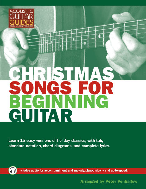Christmas Songs for Beginning Guitar - Audio tracks