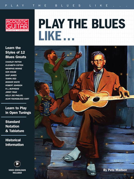 Play the Blues Like... : Complete Video Lessons