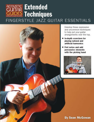 Fingerstyle Jazz Guitar Essentials: Extended Techniques