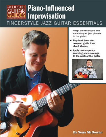 Fingerstyle Jazz Guitar Essentials: Piano-Influenced Improvisation