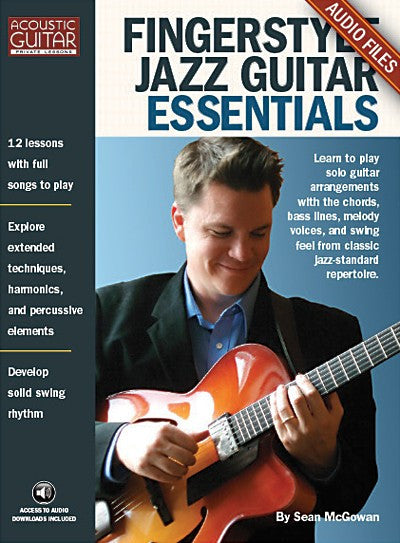 Fingerstyle Jazz Guitar Essentials: Complete Audio Tracks