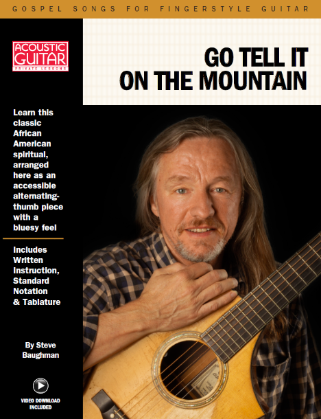 Gospel Songs for Fingerstyle Guitar: Go Tell It On The Mountain