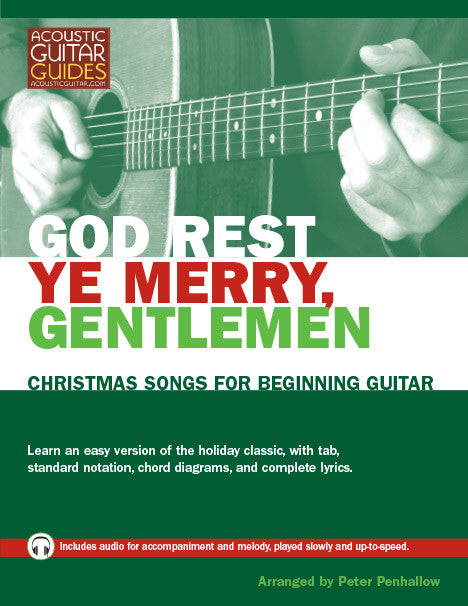 Christmas Songs for Beginning Guitar: God Rest Ye Merry, Gentlemen