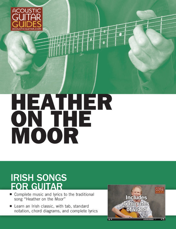 Irish Songs for Guitar: Heather on the Moor