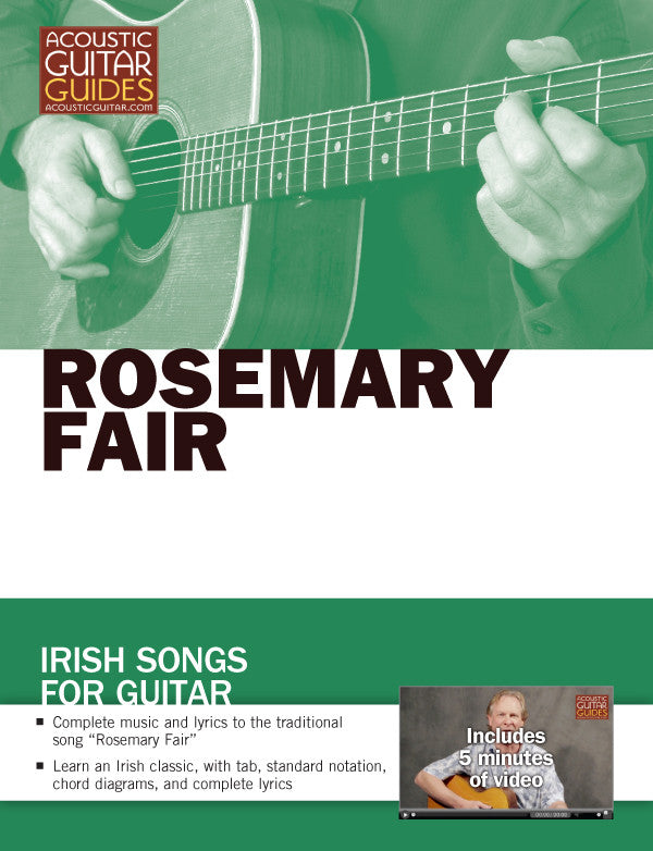 Irish Songs for Guitar: Rosemary Fair
