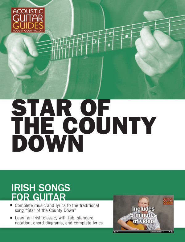 Irish Songs for Guitar: Star of the County Down