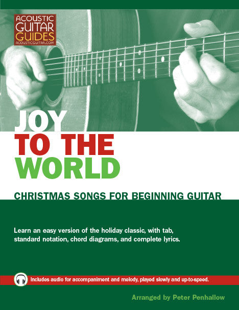 Christmas Songs for Beginning Guitar: Joy to the World – Acoustic ...