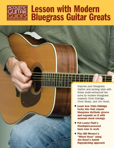 Lesson with Modern Bluegrass Guitar Greats
