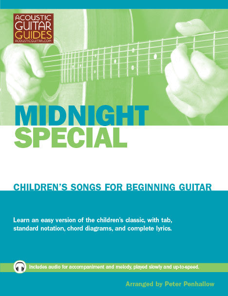 Children's Songs for Beginning Guitar: Midnight Special