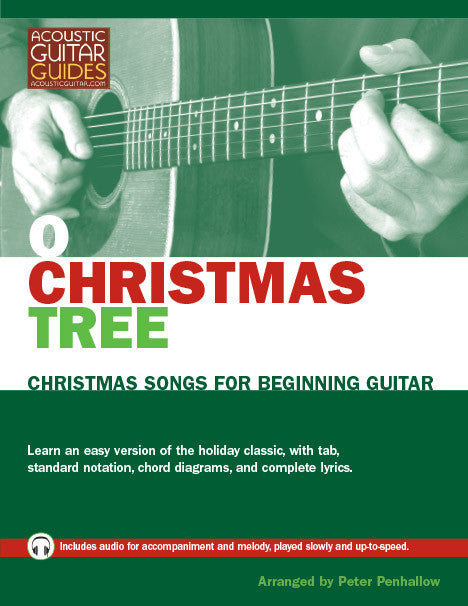 Christmas Songs for Beginning Guitar: O Christmas Tree