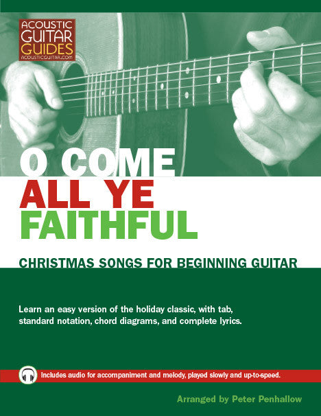 Christmas Songs for Beginning Guitar: O Come All Ye Faithful