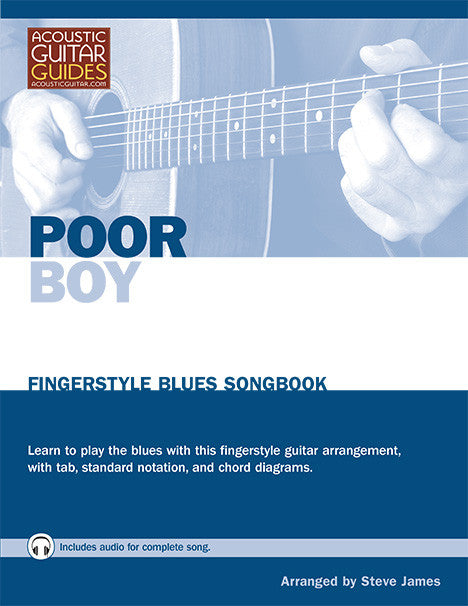 Fingerstyle Blues Songbook: Poor Boy