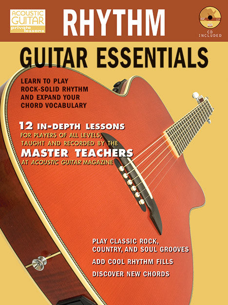 Rhythm Guitar Essentials – Acoustic Guitar