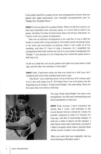Rock Troubadours: Conversations on the Art and Craft of Songwriting