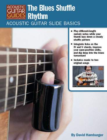 Acoustic Guitar Slide Basics: The Blues Shuffle Rhythm