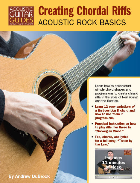 Acoustic Rock Basics: Creating Chordal Riffs