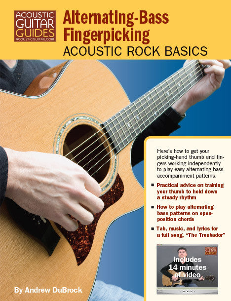 Acoustic Rock Basics: Alternating-Bass Fingerpicking