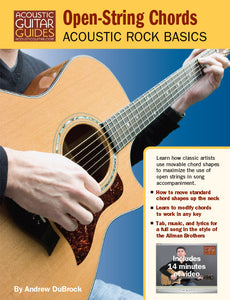 Acoustic Rock Basics: Open-String Chords