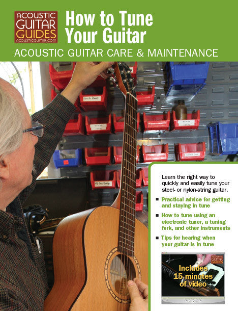 Acoustic Guitar Care & Maintenance: How to Tune Your Guitar