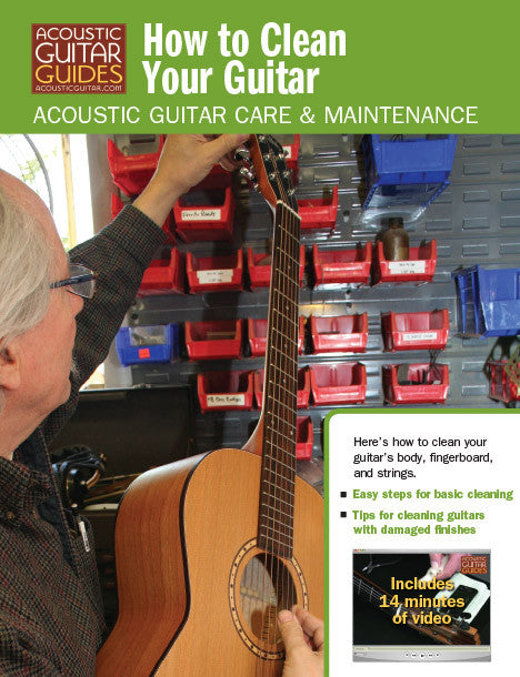 Acoustic Guitar Care & Maintenance: How to Clean Your Guitar