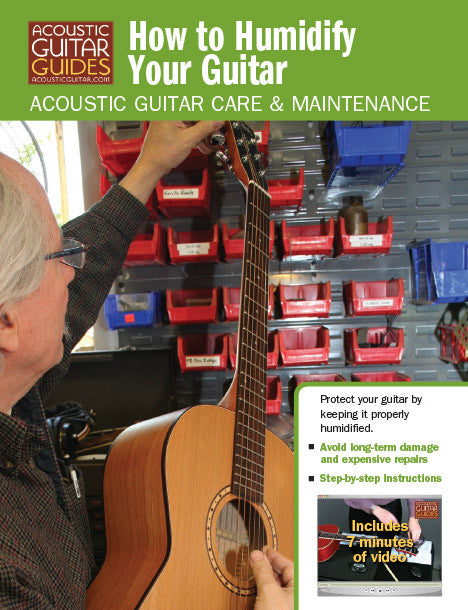 Acoustic Guitar Care & Maintenance: How to Humidify Your Guitar