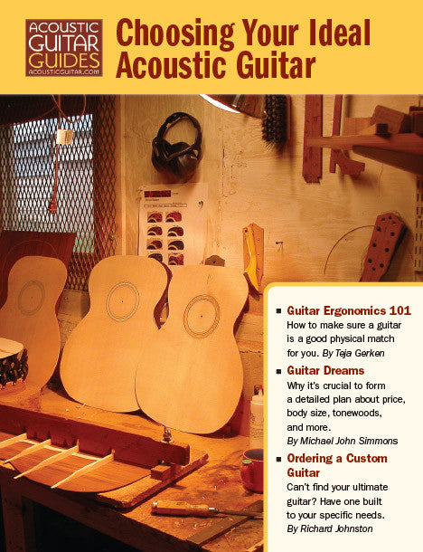 Choosing Your Ideal Acoustic Guitar
