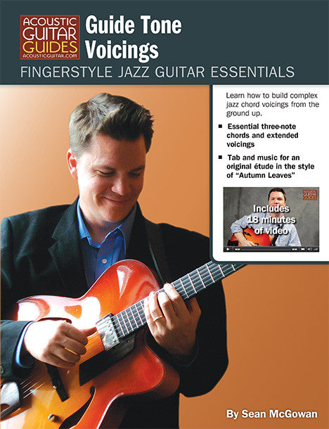 Fingerstyle Jazz Guitar Essentials: Guide Tone Voicings