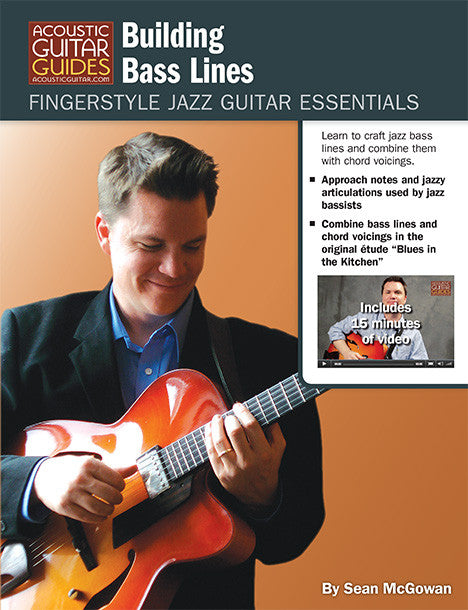 Fingerstyle Jazz Guitar Essentials: Building Bass Lines
