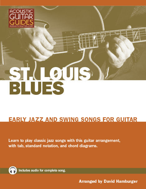 Early Jazz and Swing Songs for Guitar: St. Louis Blues
