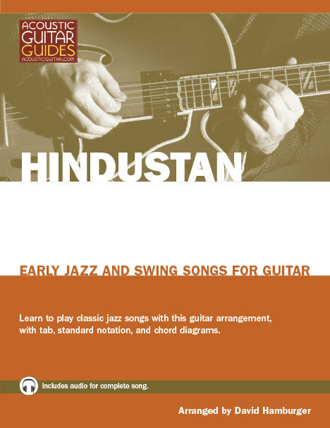 Early Jazz and Swing Songs for Guitar: Hindustan