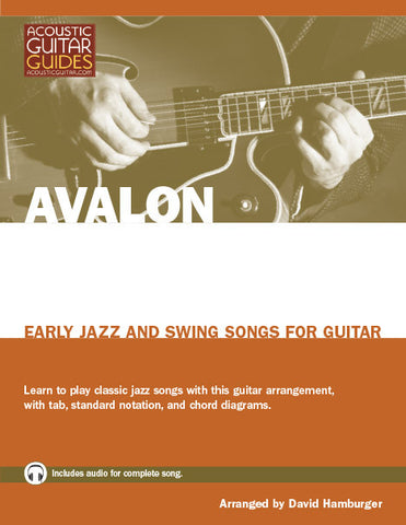 Early Jazz and Swing Songs for Guitar: Avalon