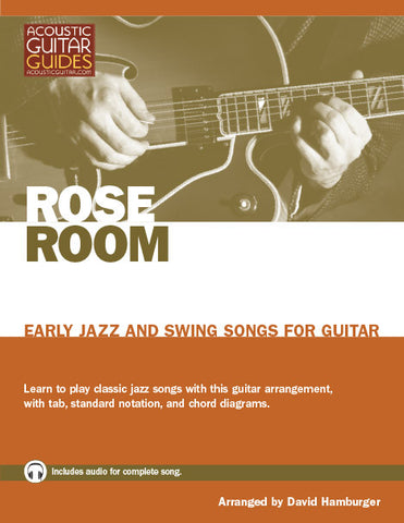 Early Jazz and Swing Songs for Guitar: Rose Room