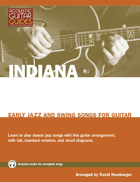 Early Jazz and Swing Songs for Guitar: Indiana