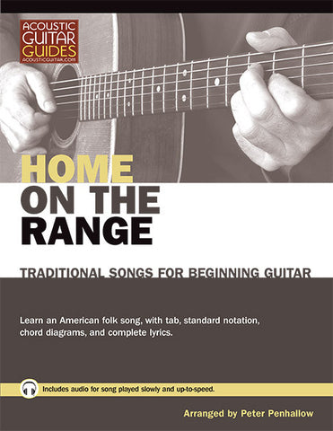 Traditional Songs for Beginning Guitar: Home on the Range