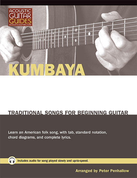 Traditional Songs for Beginning Guitar: Kumbaya