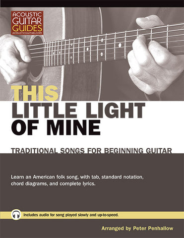 Traditional Songs for Beginning Guitar: This Little Light of Mine