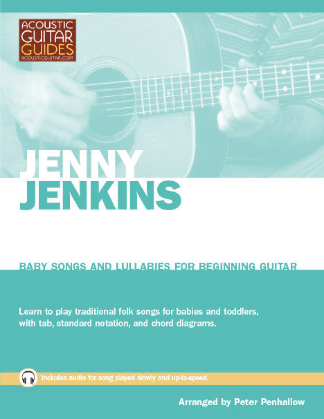 Baby Songs and Lullabies for Beginning Guitar: Jenny Jenkins