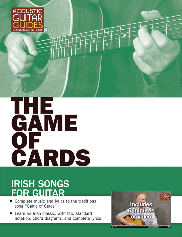 Irish Songs for Guitar: The Game of Cards