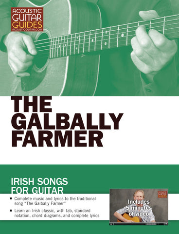 Irish Songs for Guitar: The Galbally Farmer