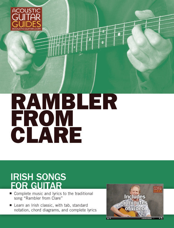 Irish Songs for Guitar: The Rambler from Clare
