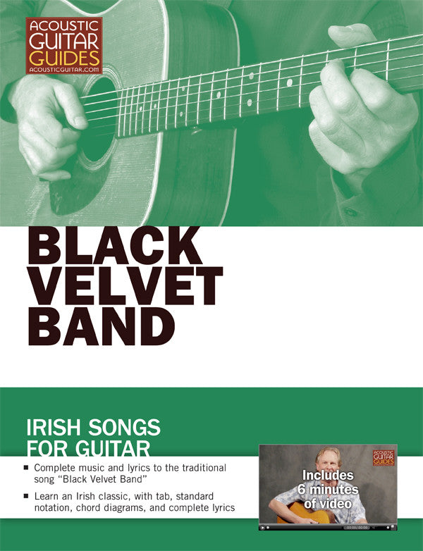 Irish Songs for Guitar: Black Velvet Band