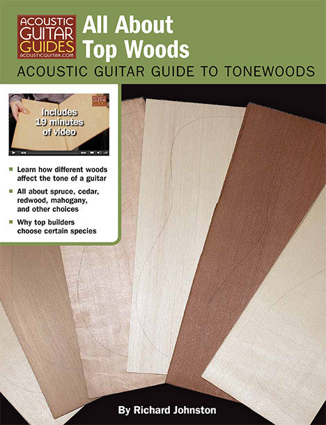Acoustic Guitar Guide to Tonewoods: All About Top Woods