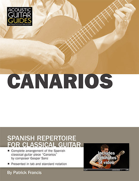 Spanish Repertoire for Classical Guitar: Canarios
