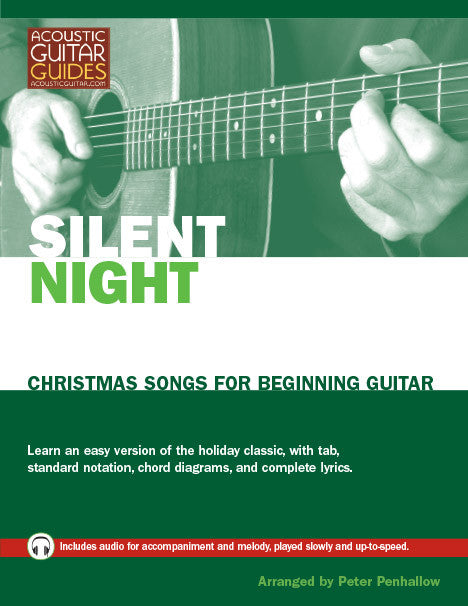 Christmas Songs for Beginning Guitar: Silent Night