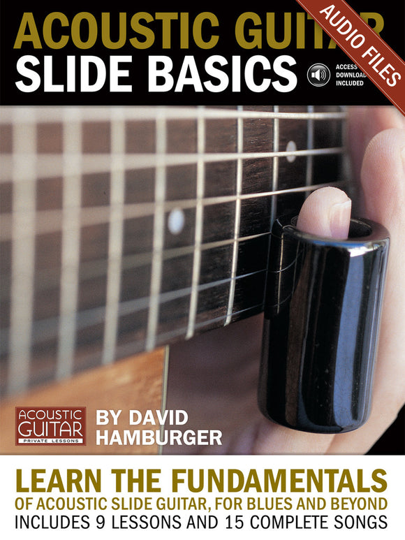 Acoustic Guitar Slide Basics: Complete Audio Tracks