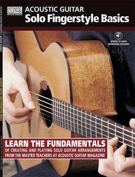 Solo Fingerstyle Basics: Complete Audio Tracks