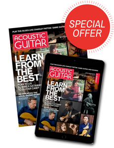 Acoustic Guitar- Free 12 Month Subscription