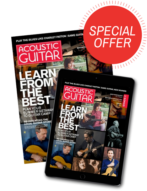 Love the Arts! Acoustic Guitar Subscription Offer