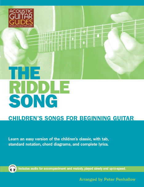 Children's Songs for Beginning Guitar: The Riddle Song