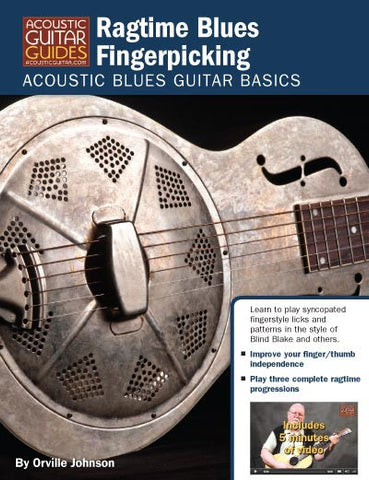 Acoustic Blues Guitar Basics: Ragtime Blues Fingerpicking